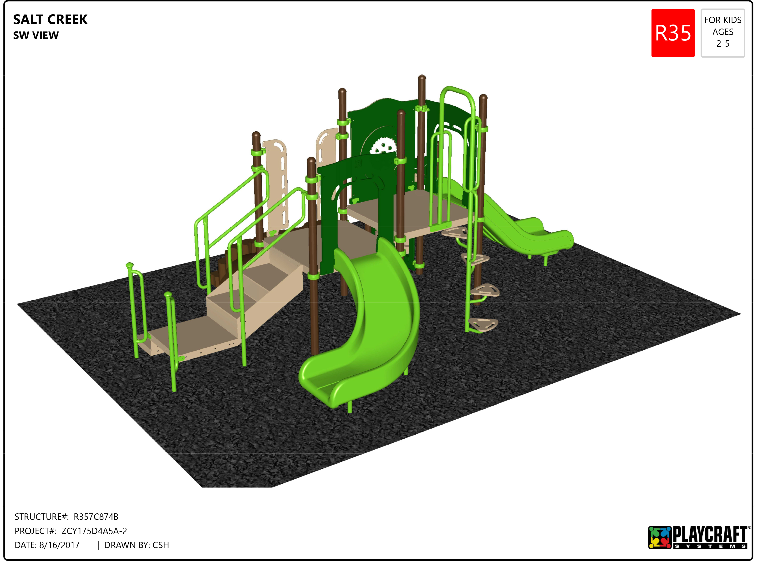 Salt Creek Playground Equipment Trying to Fund